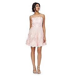 Chi Chi London - Pink 'Zana' lace dress