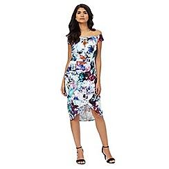 Laced In Love - Multicoloured midi dress