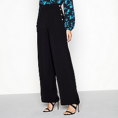 Red Herring - Black wide leg formal trousers