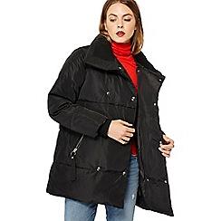 Red Herring - Black puffer coat
