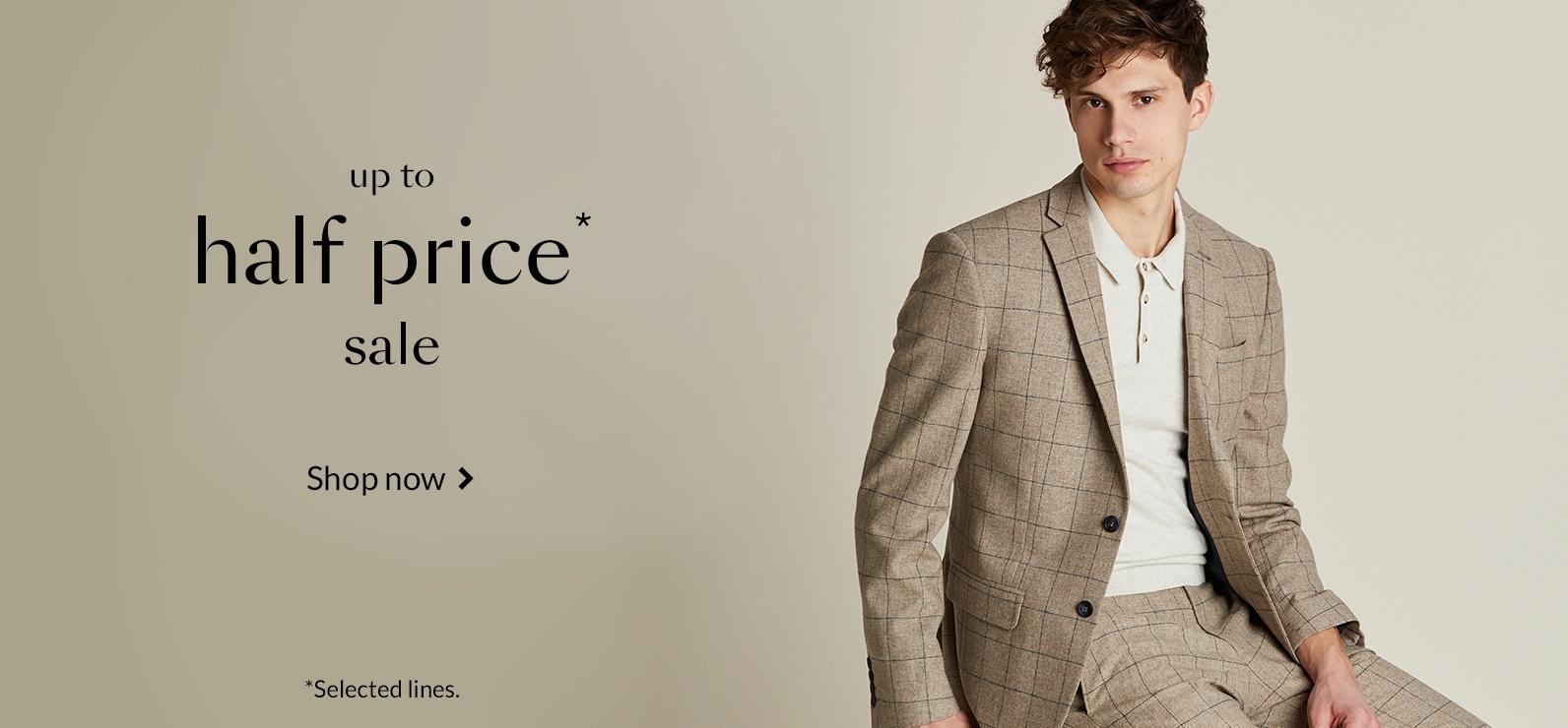 53291f1c8982 Suits - Men | Debenhams