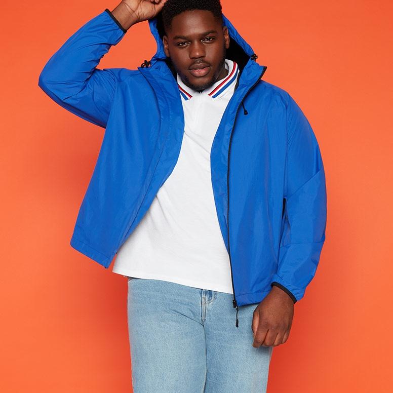 Big & tall coats & jackets