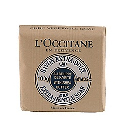 L'Occitane en Provence - 'Milk' extra gentle soap 100g