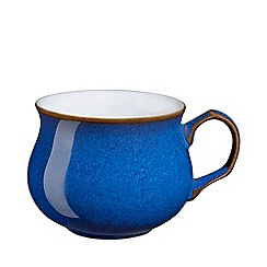 Denby - Glazed 'Imperial Blue' tea cup