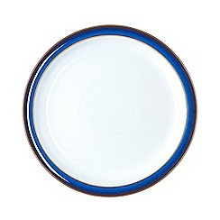 Denby - Glazed 'Imperial Blue' dessert plate