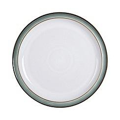 Denby - Glazed 'Regency Green' dessert plate