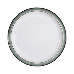 Denby - Glazed 'Regency Green' tea plate