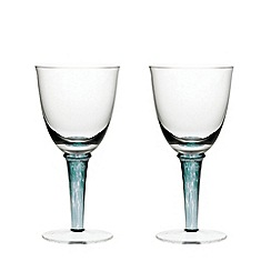 Denby - Set of 2 'Greenwich/Regency' white wine glasses