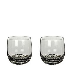 Denby - Set of 2 'Jet' small tumblers