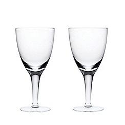 Denby - Set of 2 white wine glasses