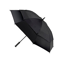 Fulton - Black storm shield umbrella