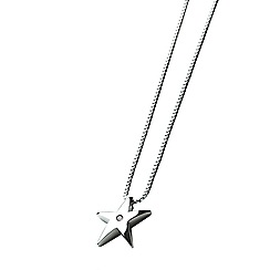 Hot Diamonds - Silver 'stargazer' pendant