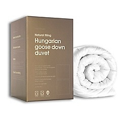 Debenhams - Hotel 10.5 tog natural Hungarian Goose Down duvet