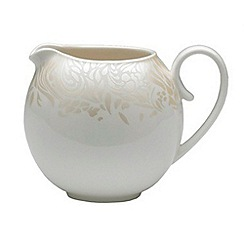 Denby - Cream glazed 'Monsoon Lucille' small jug