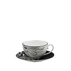 Denby - Glazed 'Monsoon Chrysanthemum' tea cup