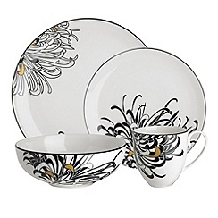Denby - Glazed \u0027Monsoon Chrysanthemum\u0027 16 piece dinnerware set  sc 1 st  Debenhams Ireland & Denby - Dinner sets - Home | Debenhams