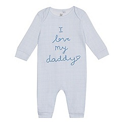 bluezoo - Baby boys' 'I Love My Daddy' sleep suit