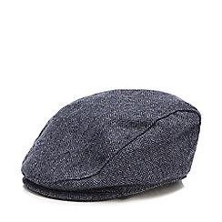 J by Jasper Conran - Babies wool blend herringbone peaked hat