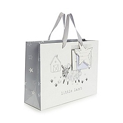 bluezoo - White 'Little lamb' gift bag