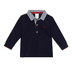 J by Jasper Conran - Baby boys' navy polo top