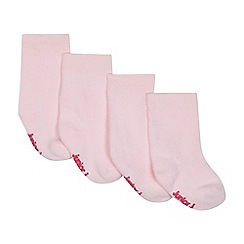 J by Jasper Conran - Pack of four baby girls' pink socks