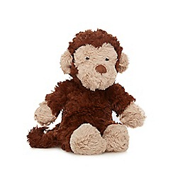 Jellycat - Brown 'Mumble' monkey soft toy