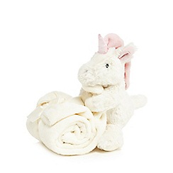 Jellycat - Babies Cream unicorn soother