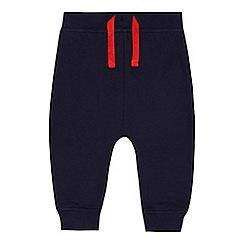 bluezoo - Baby boys' navy fire engine applique jogging bottoms