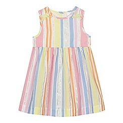 bluezoo - 'Baby girls' multi-coloured striped dress
