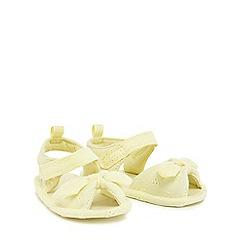 bluezoo - 'Baby girls' yellow sandals