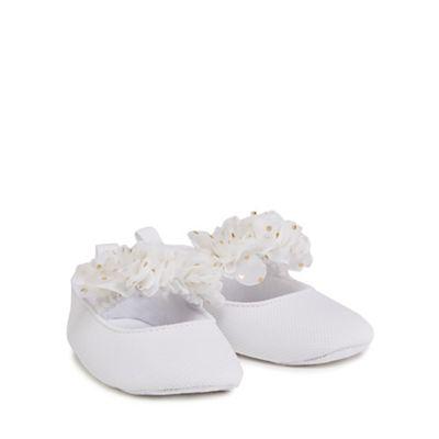 bluezoo Babies white pumps  e235b5707afe0