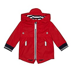 J by Jasper Conran - Baby boys' red rubberised jacket