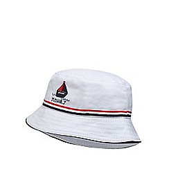 J by Jasper Conran - Babies' white embroidered fisherman hat