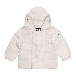J by Jasper Conran - 'Baby girls' light pink padded coat