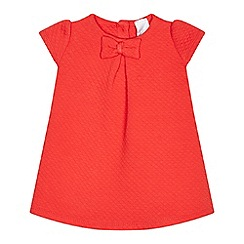 J by Jasper Conran - Baby girls' red quilted dress