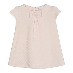 J by Jasper Conran - 'Baby girls' pink quilted dress