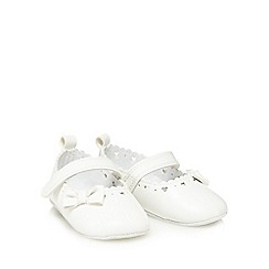 J by Jasper Conran - 'Baby girls' white pumps