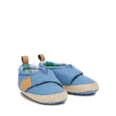 Mantaray - 'Baby boys' blue pumps