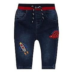 bluezoo - 'Baby boys' blue applique jeans