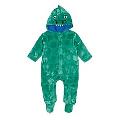 bluezoo - Babies' Green Dinosaur Onesie
