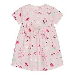 bluezoo - 'Baby girls' pink printed dress