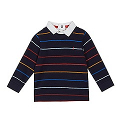 J by Jasper Conran - Baby boys' multi-coloured striped print long sleeve top
