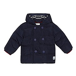 J by Jasper Conran - 'Baby boys' navy padded coat