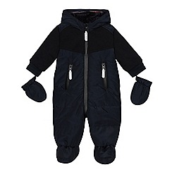 J by Jasper Conran - Babies' navy snowsuit