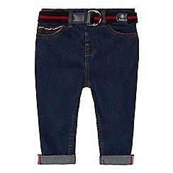 J by Jasper Conran - 'Baby boys' dark blue regular fit jeans