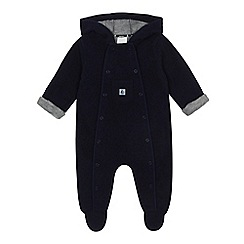 J by Jasper Conran - 'Baby boys' navy fleece all in one