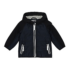J by Jasper Conran - Boys' navy reflective trims jacket