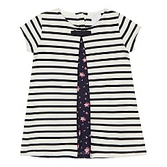 J by Jasper Conran - 'Baby girls' white striped dress