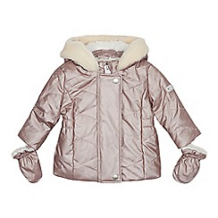 J by Jasper Conran - Baby girls' pink quilted jacket