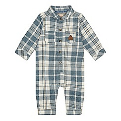 Mantaray - 'Baby boys' multi-coloured checked romper suit